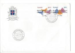 11699 - FDC JOL 1982 Reykjavik 16.11.1982 - FDC