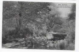 (RECTO / VERSO) PLOUAY EN 1904 - N° 2915 - LA JONCTION DU SCORFF A LA FORET DE PONT CALLEC - PONT - Altri Comuni