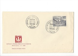 11701 - FDC Svetova Vystava Postovnich Znamek Praha 30.06.1968 - FDC
