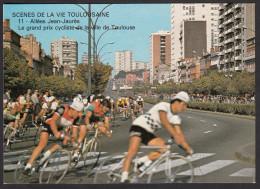 CPM - TOULOUSE - Scènes De La Vie Toulousaine - 4ème Série - Allées Jean-Jaurès - Le Grand Prix Cycliste - Toulouse