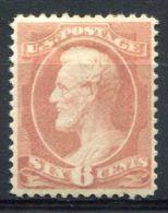 ETATS-UNIS (POSTE)  :  Y&T  N° 42 , 6 C     TIMBRE  NEUF  AVEC  TRACE  DE  CHARNIERE ,  A VOIR . - 1847-99 General Issues