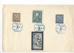 11706 - X Slet VSESOKOLSKY Praha 26.06.1938 - Tchécoslovaquie