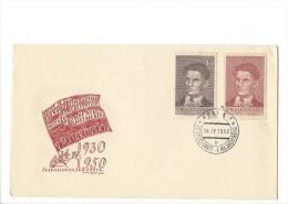 11709 - FDC V. Majakovskij 14.04.1950 - FDC
