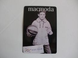 Fashion Moda Maconde Macmoda Portugal Portuguese Pocket Calendar 1997 - Formato Piccolo : 1991-00