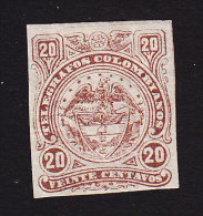 Colombia, Scott #Unlisted, Mint Hinged, Telegraph, Issued - Colombie