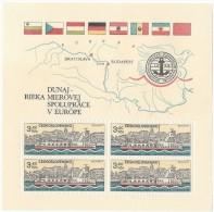 11712 - Bloc Commission Du Danube 1982 Neuf - Blocs-feuillets