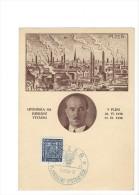 11720 -  VI Jubilejni Vystava 1938 PLZEN 09.07.1938 - Cartas