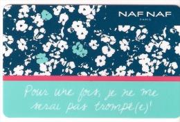 Carte Cadeau. Gift Card.   NAF NAF - Gift Cards