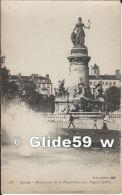 LYON - Monument De La République Par Peynot (1890) (animée) - N° 229 - Lyon
