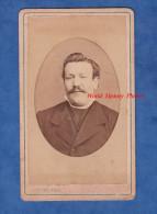 Photo Ancienne CDV Vers 1880 - LAON ( Aisne ) - Portrait De Monsieur Jules COLON - Photographie F. Cliche - Photographs