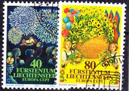 Liechtenstein - Europa (MiNr: 764/5) 1981 - Gest. Used. Obl. - Europa-CEPT