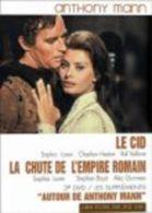 Anthony Man  °°°° Le Cid , La Chute De L'empire Romain   3DVD - DVD
