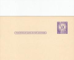 """Entier Postal- Us Postage"""" Liberty"""" - Amérique Centrale"""