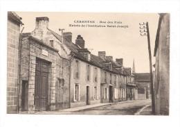 CARENTAN  Rue Des Prés - Entrée De L'Institution Saint Joseph - Carentan
