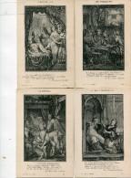 CONTES(LA FONTAINE) NUE(5 CARTES) - Fairy Tales, Popular Stories & Legends