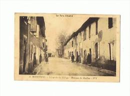 CPA  81 MONTANS L´entrée Du Village Avenue De Gaillac - Altri Comuni