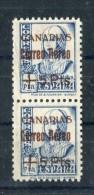 1938. Canarias. Edifil 43 X 2 Pliegue ** MNH - 1931-Hoy: 2ª República - ... Juan Carlos I