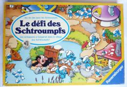 JEU DE PLATEAU RAVENSBURGER 1983 - LE DEFI DES SCHTROUMPFS - PEYO - Autres