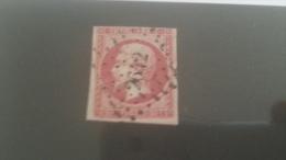 LOT 245471 TIMBRE DE FRANCE OBLITERE N�17B VALEUR 55 EUROS