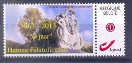 Belgie -  2013 - ** Duostamp - Hamse Filatelieclub - Mon De Veerman En De Jonkvrouw ** - Neufs