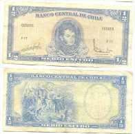 Chile 1/2 Escudo 1962, Firma III Pk 134 Aa.2 Ref 323.2 - Chile