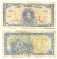 Chile 1/2 Escudo 1962, Firma III Pk-134-aa REF 32041 - Chile