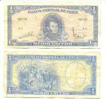 Chile 1/2 Escudo 1962, Firma III Pk-134-aa REF 32042 - Chile