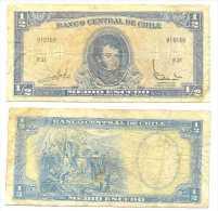 Chile 1/2 Escudo 1962, Firma III Pk-134-aa REF 32044 - Chile