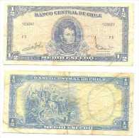 Chile 1/2 Escudo 1962, Firma III Pk-134-aa Ref 323-9 - Chile