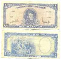 Chile 1/2 Escudo 1962, Firma III Pk-134-aa REF 32055 - Chile