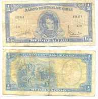Chile 1/2 Escudo 1962, Firma III Pk-134-aa Ref 323-16 - Chile