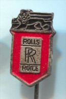 ROLLS ROYCE- Car, Auto,  Vintage Pin Badge - Pin's & Anstecknadeln
