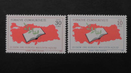 Turkey - 1981 - Mi:2581-2**MNH - Look Scan - 1921-... Repubblica