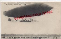 AVIATION - BALLON DIRIGEABLE - ADJUDANT REAU   1912 AVIATION - Aviation Commerciale
