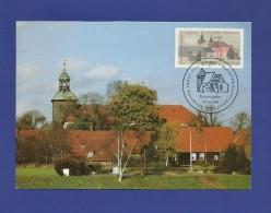 BRD 1986  Mi.Nr. 1280 , 1000 Jahre Walsrode Kloster Walsrode - Hagenbach Maximum Card - Limitierte Auflage -05.05.1986 - - Klöster