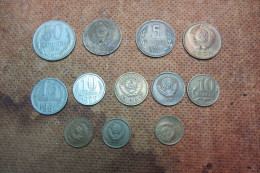 LOTTO MONETE RUSSIA DI DIVERSO VALORE _COIN__ - Monnaies