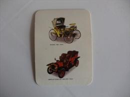 Peugeot - 1892 And Serpollet Steam Car - 1900/1903 Portugal Portuguese Pocket Calendar 1991 - Tamaño Pequeño : 1991-00