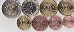 Série Lituanie De 1c à 2 Euro UNC 2015 - EURO