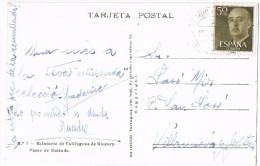 R 796. Postal VALLFOGONA De RIUCORB (tarragona) 1958. Balneario - 1931-Hoy: 2ª República - ... Juan Carlos I