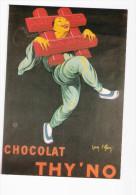 CPM -  PUBLICITE - VIEILLES AFFICHES - CHOCOLAT THY'NO - Advertising