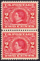 !a! USA Sc# 0370 MNH Vert.PAIR (c) -William H. Seward - United States