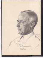 Postkarte Reichssportführer Hans V.Tschammer U.Osten  1938 - Briefe U. Dokumente