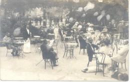 SALSOMAGGIORE  PARMA EMILIA ROMAGNA CAFE CPA 1910 CPA VOYAGEE TRES ANIMEE RARE - Parma