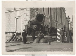 "Photo Ancienne Branger ""Moscou - Un Des Vieux Canons Du Kremlin"" Circa 1912 - Lieux"
