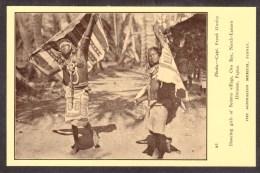 PN8) Papua - Dancing Girls - Beiama Village - Oro Bay - Papoea-Nieuw-Guinea