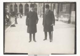 "Photo Ancienne Branger ""Le Roi De Grêce à Paris"" Circa 1912 - Personalidades Famosas"
