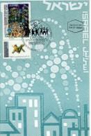 Israel 1997 Maximum / Max Card-50th Anniversary U.N. Resolution Of A Jewish State -Bale#1260, First Day PM - Maximum Cards