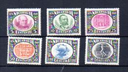 Timbre Service Poste Aérienne, 39 / 44** - Nicaragua