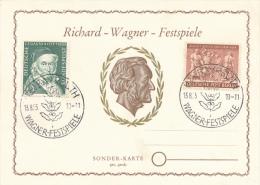 BAYREUTH - 1955 , Richard-Wagner-Festspiele - BRD