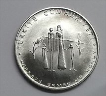 @Y@  Turkije  1977     2  1/2 + 5  + 50 Lira  FAO   (2831 + 2832 + 2833 )  6 Picture´s - Turquie